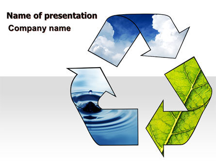 Nature & Environment: Recycle PowerPoint Template #06325