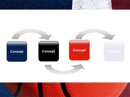 Basketball Ball PowerPoint Template, Slide 4, 06326, Sports — PoweredTemplate.com