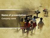 People: Modelo do PowerPoint - trabalho infantil num país pobre #06328