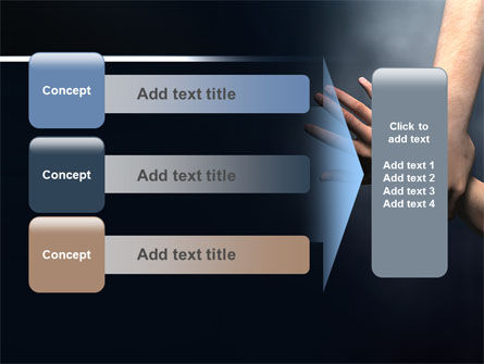 Rescue Hand PowerPoint Template Slide 12