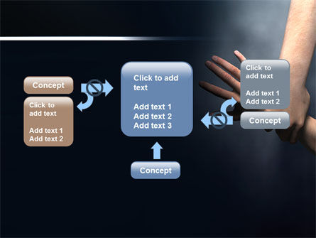 Rescue Hand PowerPoint Template Slide 13