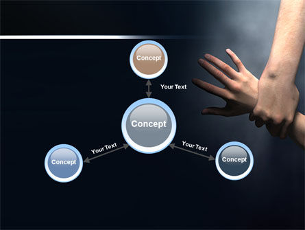 Rescue Hand PowerPoint Template Slide 14
