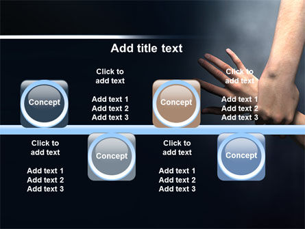 Rescue Hand PowerPoint Template Slide 19