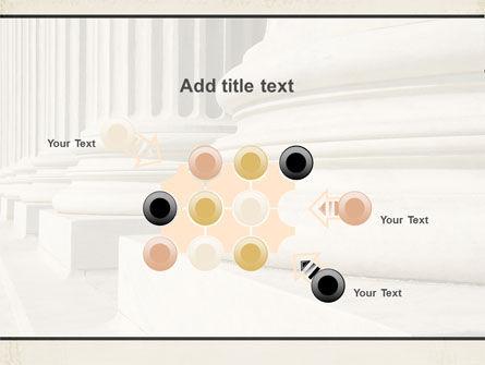 Doric Columns PowerPoint Template Slide 10