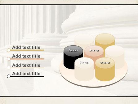 Doric Columns PowerPoint Template Slide 12