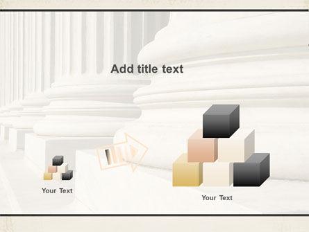 Doric Columns PowerPoint Template Slide 13