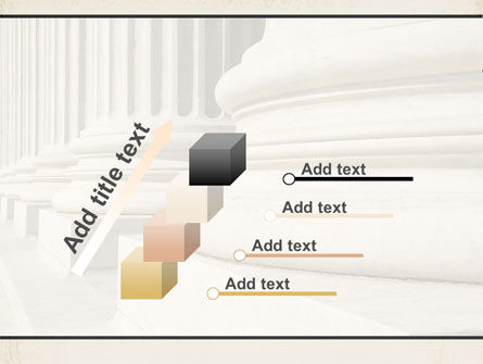 Doric Columns PowerPoint Template Slide 14