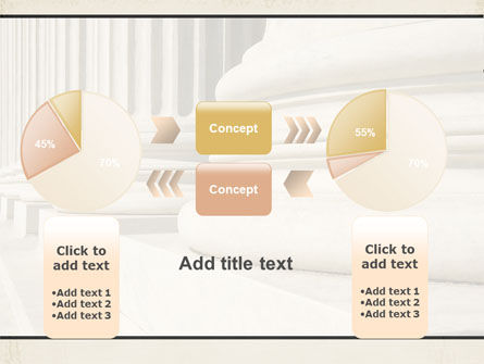 Doric Columns PowerPoint Template Slide 16