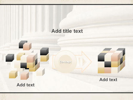 Doric Columns PowerPoint Template Slide 17