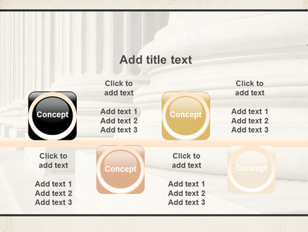 Doric Columns PowerPoint Template Slide 18