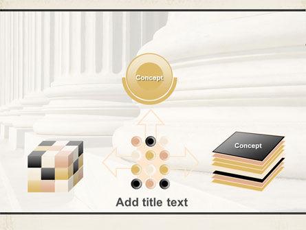 Doric Columns PowerPoint Template Slide 19
