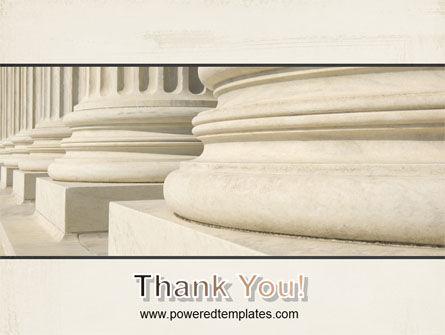 Doric Columns PowerPoint Template Slide 20