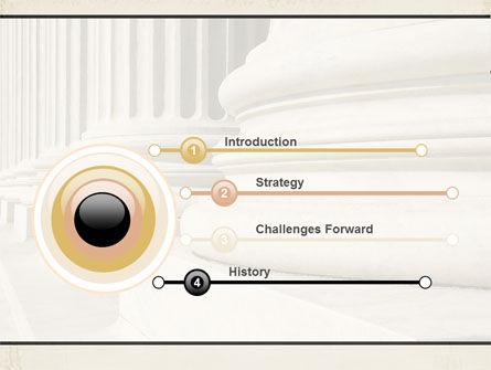 Doric Columns PowerPoint Template Slide 3