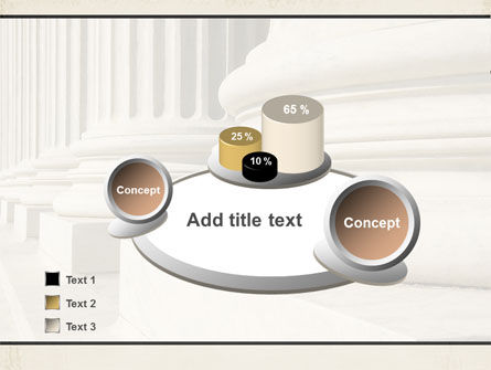 Doric Columns PowerPoint Template Slide 6