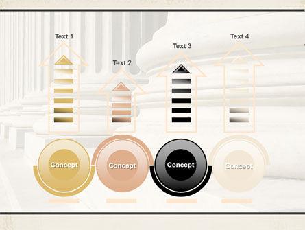 Doric Columns PowerPoint Template Slide 7