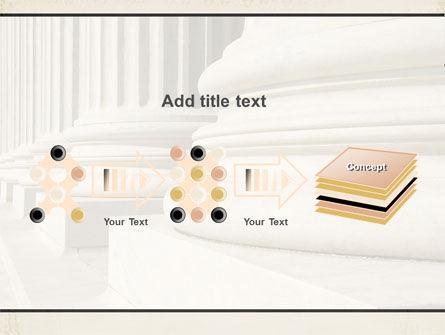 Doric Columns PowerPoint Template Slide 9