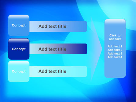 Blue Geometry Free PowerPoint Template Slide 12