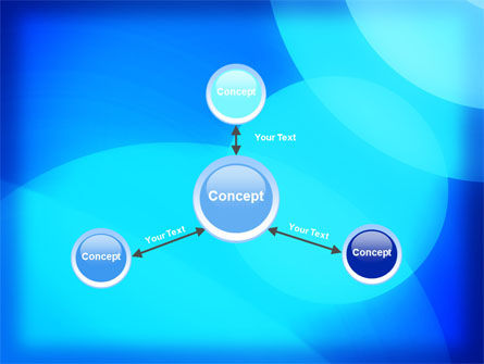 Blue Geometry Free PowerPoint Template Slide 14