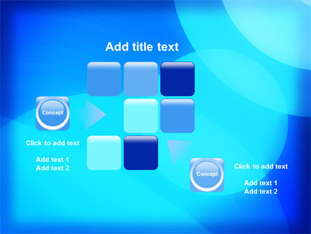 Blue Geometry Free PowerPoint Template Slide 16