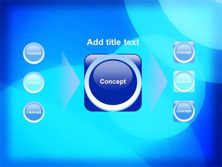 Blue Geometry Free PowerPoint Template Slide 17