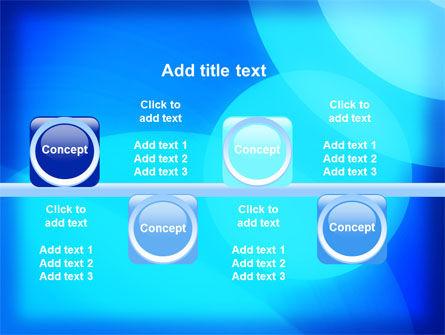 Blue Geometry Free PowerPoint Template Slide 19
