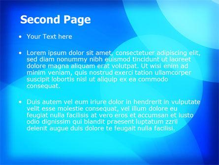 Blue Geometry Free PowerPoint Template Slide 2