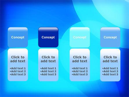 Blue Geometry Free PowerPoint Template Slide 5