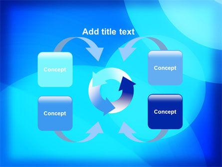 Blue Geometry Free PowerPoint Template Slide 6