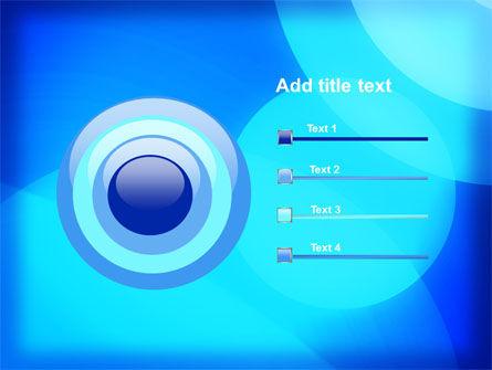Blue Geometry Free PowerPoint Template Slide 9