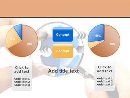 Jigsaw Close-Up PowerPoint Template Slide 16