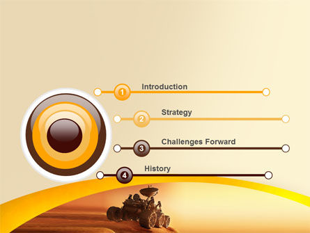 mars rover powerpoint template backgrounds 06342