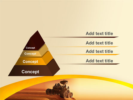 Mars Rover PowerPoint Template, Slide 4, 06342, Technology and Science — PoweredTemplate.com