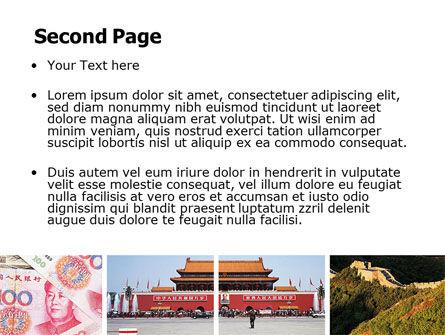 China PowerPoint Template, Slide 2, 06345, Flags/International — PoweredTemplate.com