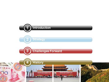 China PowerPoint Template, Slide 3, 06345, Flags/International — PoweredTemplate.com