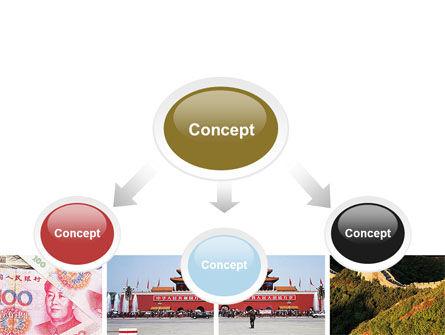 China PowerPoint Template, Slide 4, 06345, Flags/International — PoweredTemplate.com