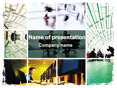 Construction: Corporate Deal PowerPoint Template #06346