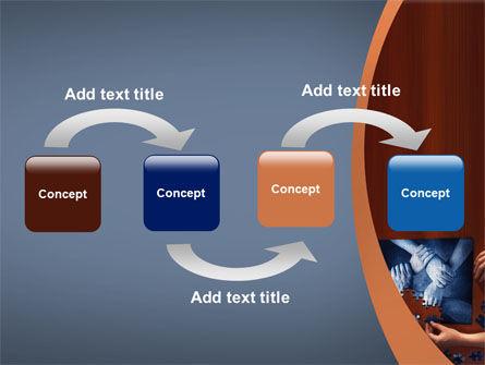 Team Building Puzzle PowerPoint Template, Slide 4, 06348, Business Concepts — PoweredTemplate.com