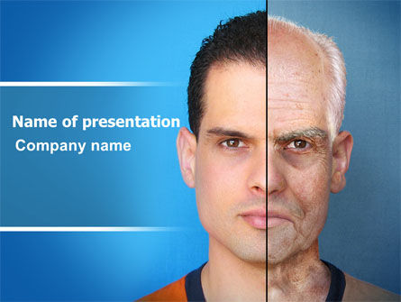 Ageing PowerPoint Template, 06349, Medical — PoweredTemplate.com