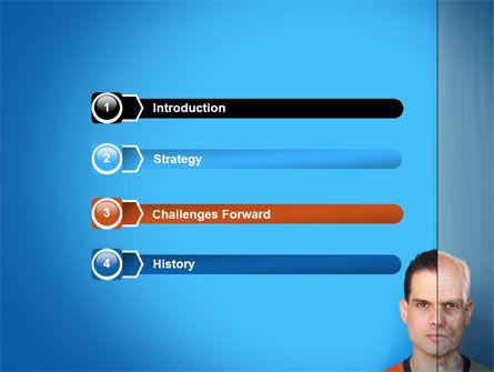 Ageing PowerPoint Template, Slide 3, 06349, Medical — PoweredTemplate.com