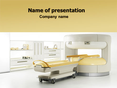Medical: Tomograph PowerPoint Template #06350