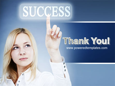 Reaching for Success PowerPoint Template Slide 20