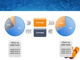 Slippers On A Pool Skirting PowerPoint Template#11