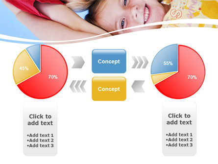 Kids Smiling Faces PowerPoint Template Slide 11
