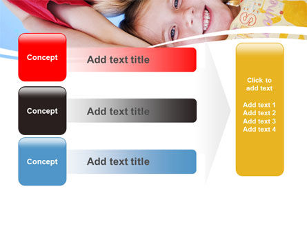 Kids Smiling Faces PowerPoint Template Slide 12