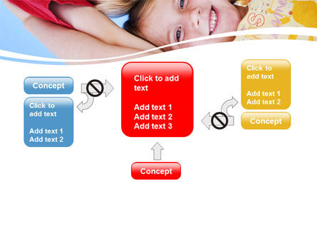 Kids Smiling Faces PowerPoint Template Slide 13
