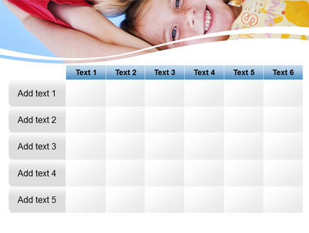 Kids Smiling Faces PowerPoint Template Slide 15