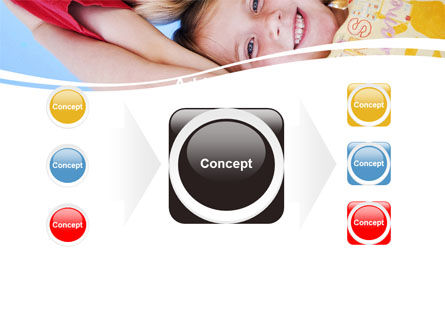 Kids Smiling Faces PowerPoint Template Slide 17