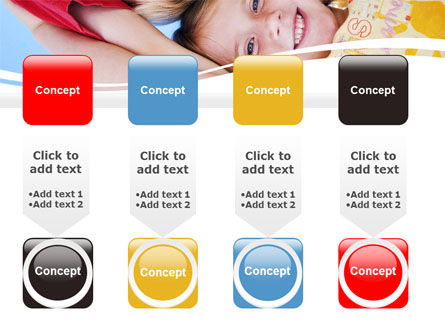 Kids Smiling Faces PowerPoint Template Slide 18