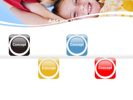 Kids Smiling Faces PowerPoint Template Slide 19