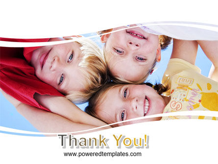 Kids Smiling Faces PowerPoint Template Slide 20